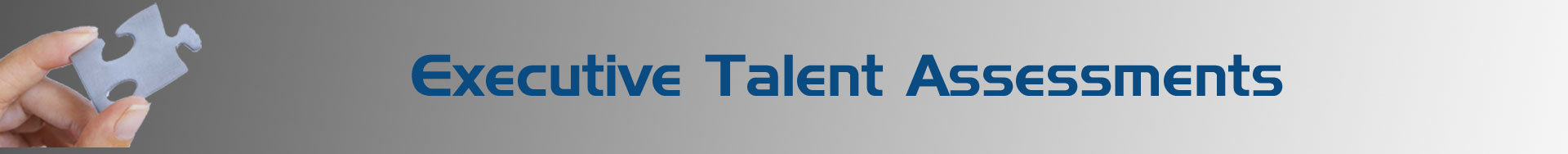 Executive Talent Assessments